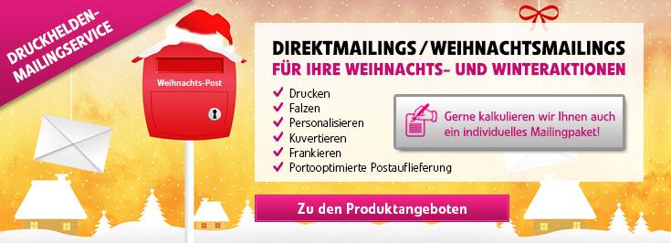 Mailing Weihnachten 2014