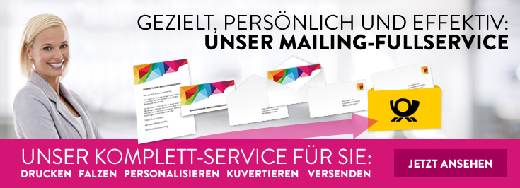 Mailing Fullservice