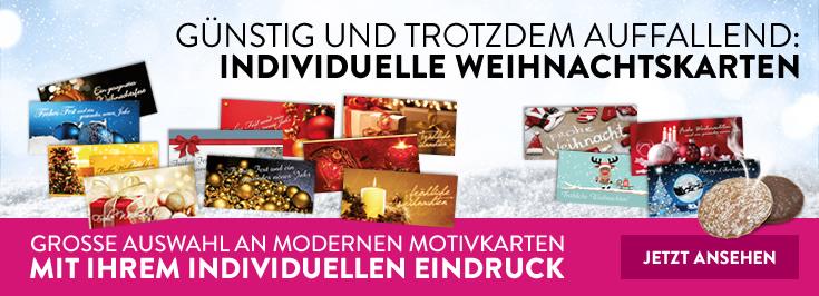 Weihnachtskarten und Duftlack