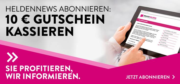 Heldennews Gutschein