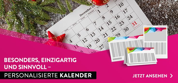 personalisierte Kalender