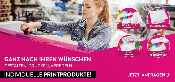 Individuelle Printprodukte